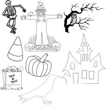 Halloween Cut Outs Printable