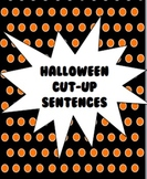Halloween Cut-Up Sentences
