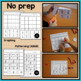 Halloween Cut and Paste Math Worksheets for Special Education and Autism