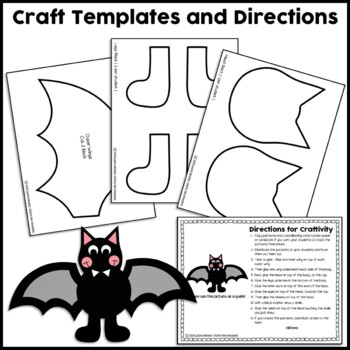Halloween Cut and Paste Set #2