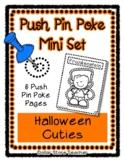 Halloween Cutie - Push Pin Poke No Prep Printables - 6 Pic