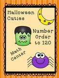Halloween Number Order to 120 (Least to Greatest/Greatest to Least)