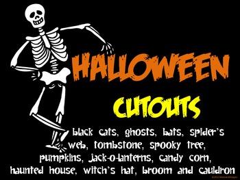 Halloween Cutouts