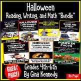 Halloween Math, Writing and Reading BUNDLE!