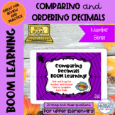 Halloween DISTANCE LEARNING Comparing and Ordering Decimal