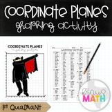 Halloween DRACULA DAB: Coordinate Plane Graphing Activity! (1st Quadrant)