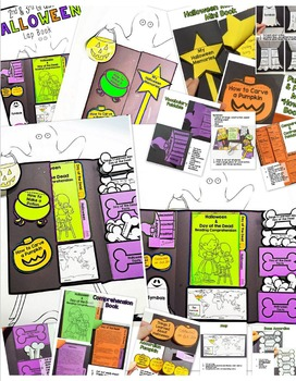 Halloween & Day of the Dead Lapbook- 2nd & 3rd Grade Compare and Contrast