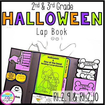 Halloween & Day of the Dead Lapbook- 2nd & 3rd Grade Compa