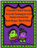 Halloween Day of the Dead Paired Passages with Comprehensi