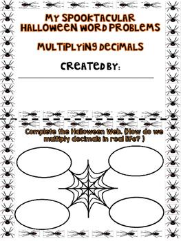 Halloween Decimal Multiplication