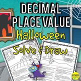 Halloween Decimal Place Value
