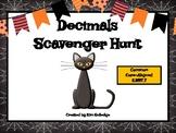 Halloween Decimal Scavenger Hunt - Common Core 5.NBT.7