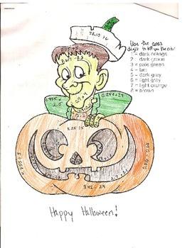 Halloween Decimals