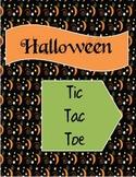 Halloween Decimals Activity:  Tic Tac Toe