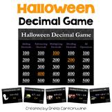 Halloween Decimal Game