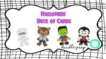 Halloween Deck of Cards!
