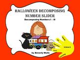 Halloween Decomposing Number Slider