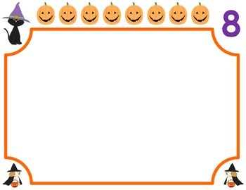 Decomposing Numbers from 3 – 10 • Halloween