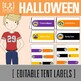 Halloween Decor (Banners, Tent Labels and Circle Toppers)