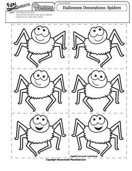 Halloween Decoration: Dangling Spiders