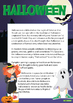Halloween Decoration, Worksheet and Vocabulary Pack