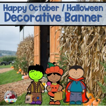 Halloween Decorative Banner
