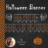 Halloween Decorative Banner