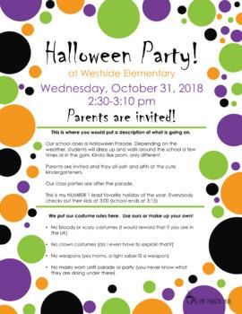 Halloween Delight Party Flier