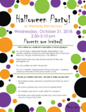 Halloween Delight Party Flier