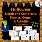 Halloween Depth and Complexity Frames, Games, and Activities