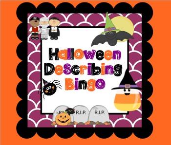 Halloween Describing Bingo