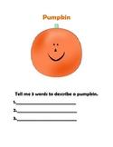 Halloween Describing Book