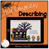Halloween Describing Boom Card™ Speech Therapy FREE