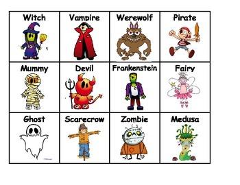Halloween Descriptive Language Center