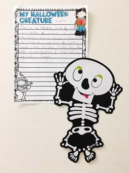 Halloween Descriptive Writing