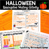 Halloween Descriptive Writing Activity for Middle School