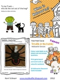 Halloween Descriptive Writing and Word Work Bundle