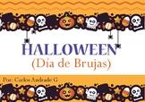 Halloween (Día de Brujas) Spanish Vocabulary