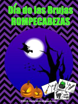 Halloween - Día de las Brujas Rompecabezas