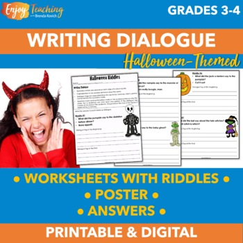Halloween Dialogue - Using Quotation Marks in Direct Quotes