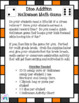 Halloween Dice Addition Game-Perfect for Math Centers, PE, Brain Breaks & Party