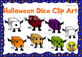 Halloween Dice Clip Art