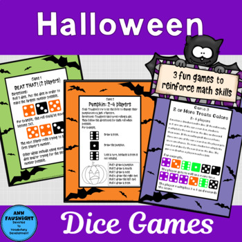 Halloween Dice Games