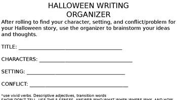 Halloween Dice Story