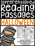 Halloween Reading Passages Differentiated