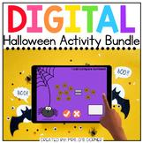 Halloween Digital Activity Bundle [10 digital activities!]