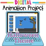 Halloween Digital Animation Project