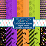 Halloween Digital Background Papers