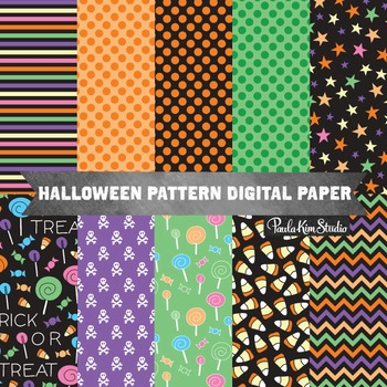 Halloween Digital Paper