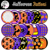 Halloween Glossy Button Set for Stickers, Buttons, Magnets
